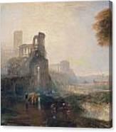 Caligula's Palace And Bridge Canvas Print