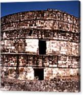 Calixtlahuaca - Round Pyramid Canvas Print
