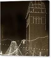 Call Building On Market Street San Francisco California 1902 Canvas Print