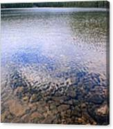 Callaghan Lake Stones Canvas Print