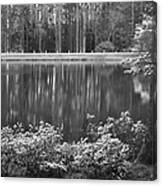 Callaway Garden Reflection Pond Canvas Print