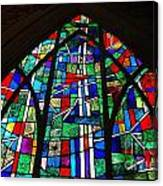 Callaway Gardens Chapel Stained Glass Canvas Print