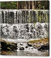 Callens Run Waterfall Canvas Print
