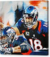 Peyton Manning Canvas Print