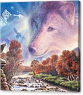 Calling To The Pack Canvas Print