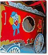 Calliope Wagon Canvas Print
