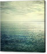 Calm At The Summer Sea Canvas Print