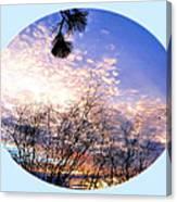 Calm December Sunset Canvas Print