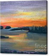 Calm Evening Canvas Print