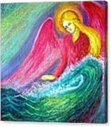 Calming Angel Canvas Print