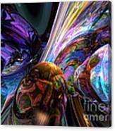 Calming Madness Abstract Canvas Print