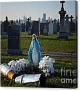 Calvary Cemetery Canvas Print