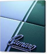Camaro By Chevrolet Canvas Print