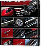 Camaro-drive - Poster Canvas Print