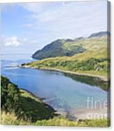 Camas Nan Geall Ardnamurchan Scotland Canvas Print