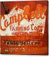 Cambell Farming Corperation Hardin Montana Canvas Print