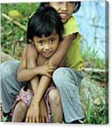 Cambodian Children 02 Canvas Print