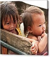 Cambodian Children 03 Canvas Print