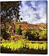 Cambria Farmland Canvas Print