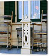 Cambria Squibb House Rocking Chairs Canvas Print