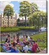 Cambridge Summer Canvas Print