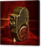Camera - Bell And Howell Film Camera Canvas Print