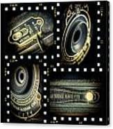 Camera Collage Canvas Print