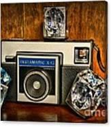 Camera - Kodak Instamatic Canvas Print