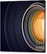 Camera Lens Background Canvas Print