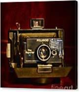 Camera - Polaroid  The Reporter Se Canvas Print