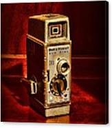 Camera - Vintage Bell And Howell Sun Dial 319 Canvas Print