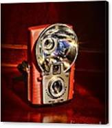 Camera - Vintage Brownie Starflash Canvas Print