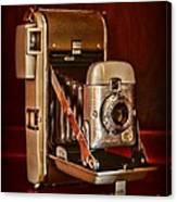 Camera - Vintage Polaroid Land Camera 80 Canvas Print