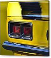 Camaro Taillight Canvas Print