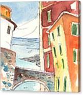 Camogli In Italy 04 Canvas Print