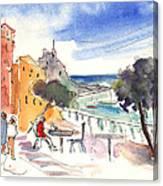 Camogli In Italy 08 Canvas Print
