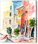 Camogli In Italy 13 Canvas Print
