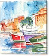 Camogli In Italy 14 Canvas Print