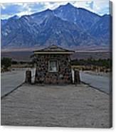 Camp Manzanar  Canvas Print
