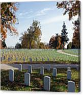 Camp Nelson National Cemetery Canvas Print