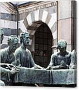 Campari Grave Marker Detail IIi Disciples Last Supper Canvas Print