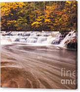 Campbell Falls In Autumn Canvas Print