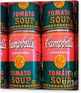 Campbell's Tomato Soup Pop Art Canvas Print