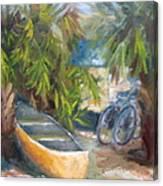 Campground Canvas Print