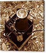 Camping Coffee Canvas Print