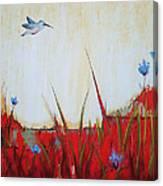 Campo Rojo Canvas Print