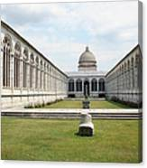 Camposanto  Cathedral Pisa Canvas Print