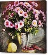 Can Of Raspberries Canvas Print