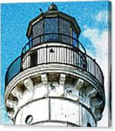 Cana Island Lighthouse Tower Canvas Print