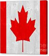 Canada Flag Canvas Print